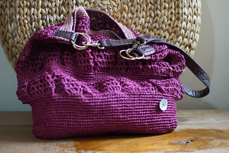 Outstanding Häkeln Bast Tasche Muster Collection - Decke Stricken ...