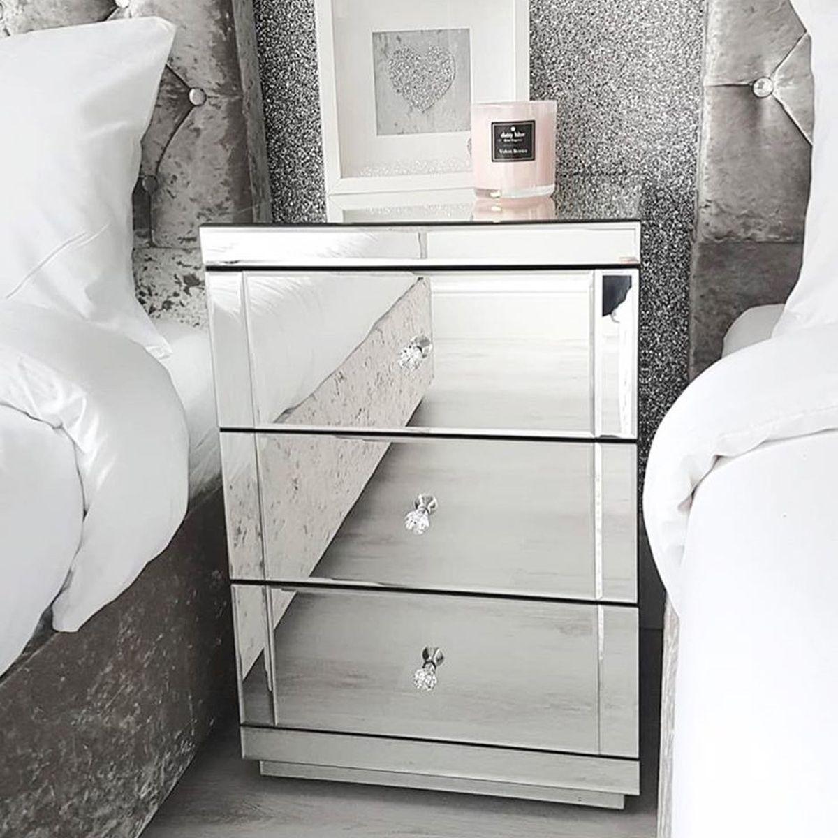 black friday mirrored furniture