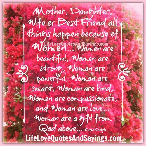 Mother, Daughter, Wife or Best Friend .. | Quotes | Pinterest ...