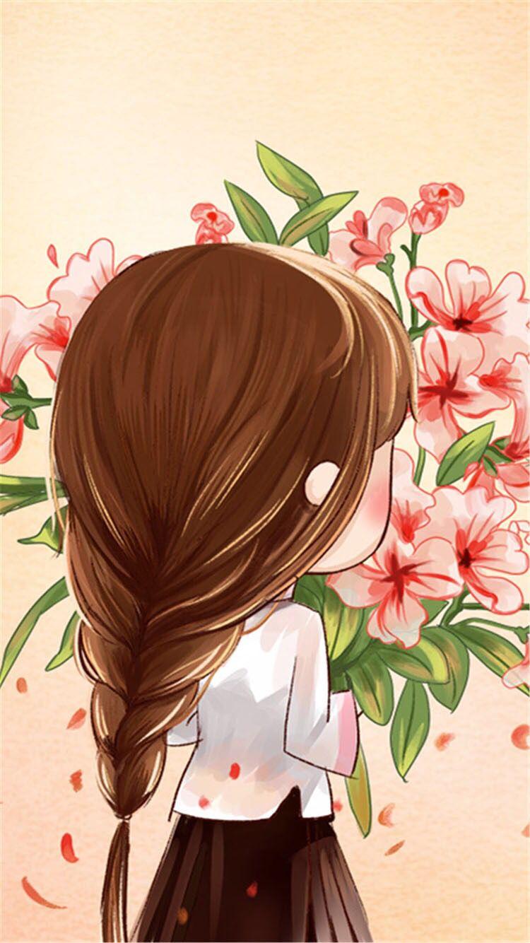 Cute Girl 2 Cute Girl Wallpaper Girl Cartoon Cute Cartoon Girl