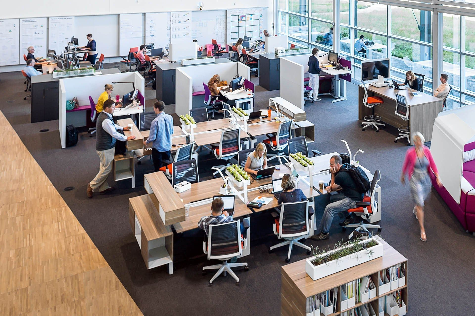 This Company Is Designing The Future Of Office Furniture Office Design Concepts Steelcase Office Furniture