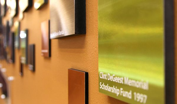 Insight Marketing Designed designed a 3D plaque donor recognition ...