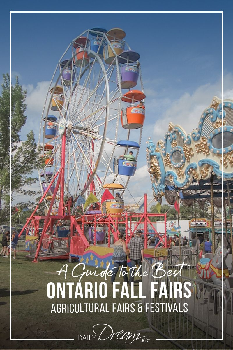 Discover Fall Fun at Ontario's Best Small Town Fairs