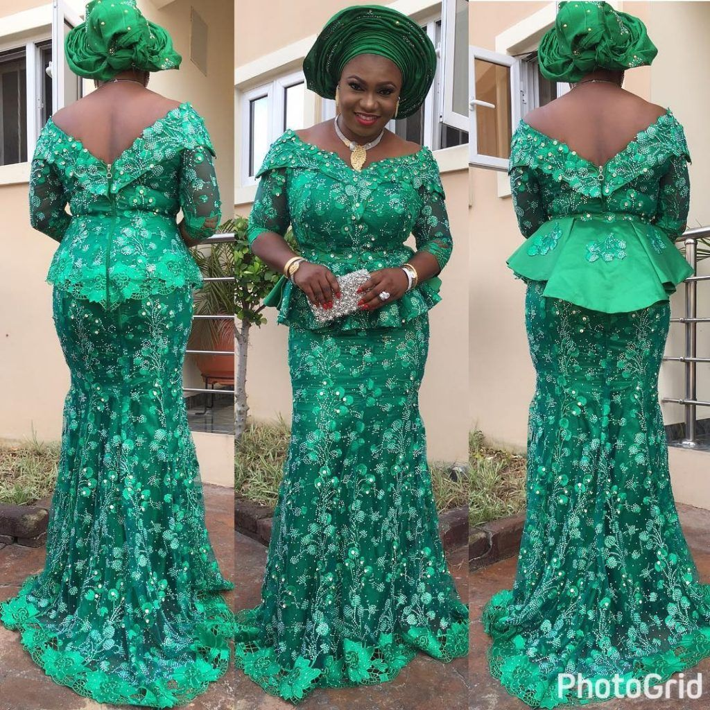 20 Different Styles of Native Skirt and Blouse Ankara to Rock This ...