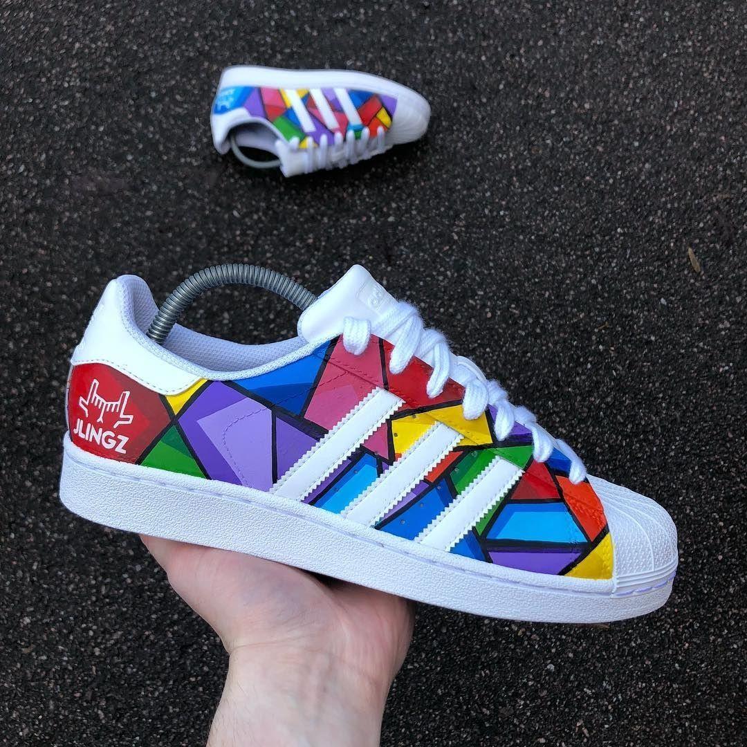 Custom adidas superstar