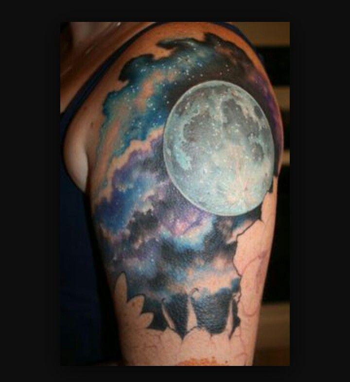 Background Of Moon Tattoo Ideas Tatouage Tatouage Phoenix
