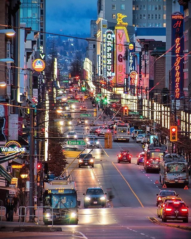 Vancouver Living: Electric Avenue . The Epicenter Of Vancouver's Nighlife