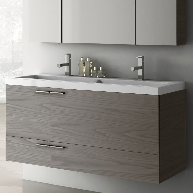 47 Inch Vanity Cabinet With Fitted Sink With Images Buy