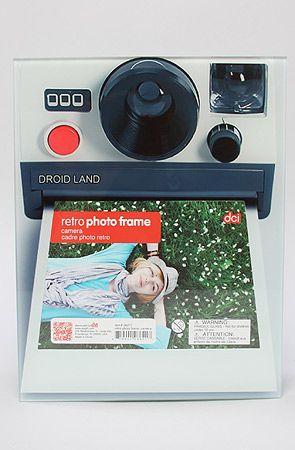 DCI The Camera Retro Photo Frame4 x 6 : Karmaloop.com - Global Concrete Culture