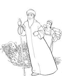 drawing of Abraham & Sarah - Google Search | Drawings, Coloring ...