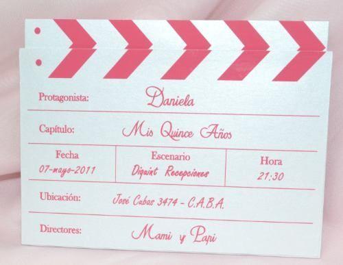 Tarjetas & Invitaciones De 15 Años Y Casamiento. - - en ...