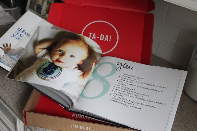 Month by month baby book idea (LOVE IT!!)