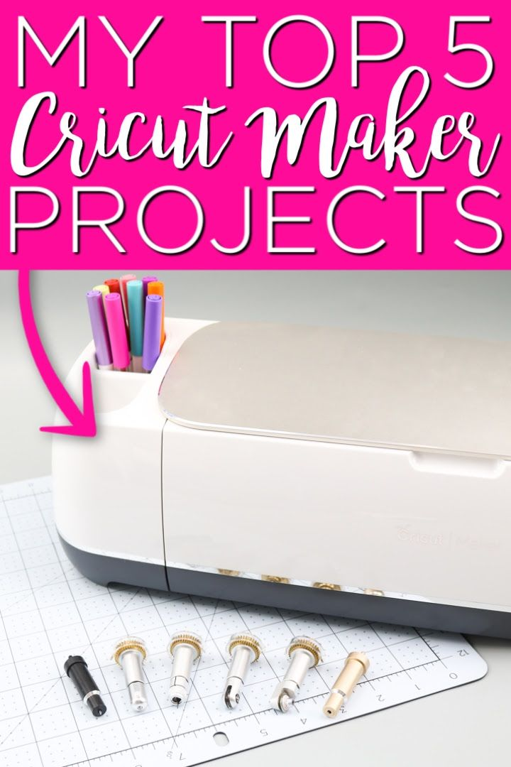 Take a look at my top 5 Cricut Maker projects and start on your version of these great crafts! These all utilize features that only your Maker has! #cricut #cricutcreated #cricutmaker #cricutmachine #cricutprojects