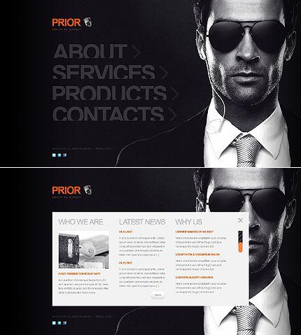 private investigator website template 41074 website. Black Bedroom Furniture Sets. Home Design Ideas