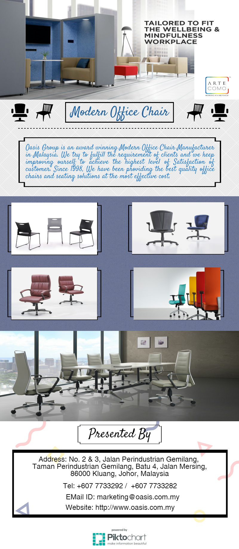 Get the best Modern Office Chair in Malaysia. Come to Us.