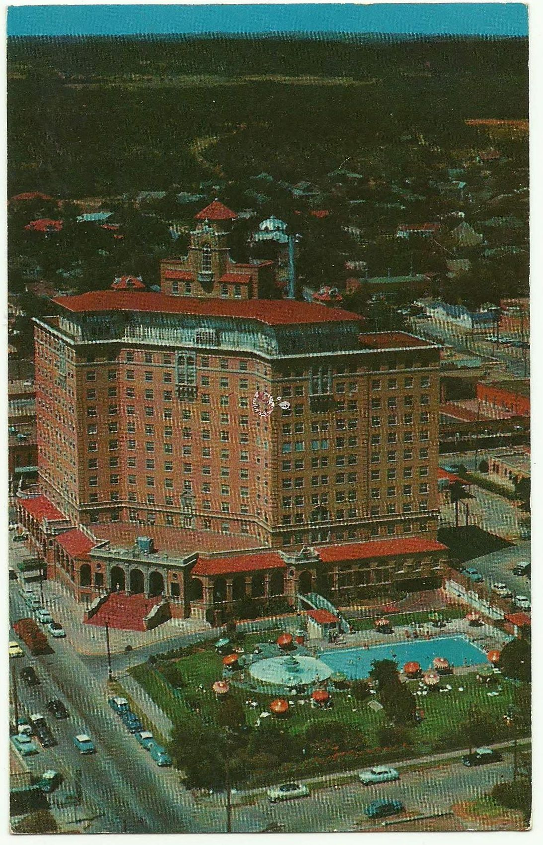 Baker Hotel Mineral Wells Tx Postmarked 1958