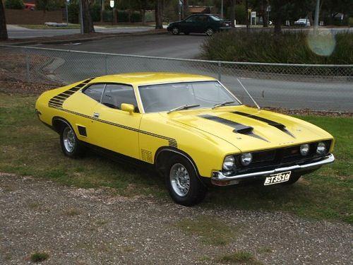 Australian 1974 Ford Falcon Xb Coupe Muscle Cars Australian