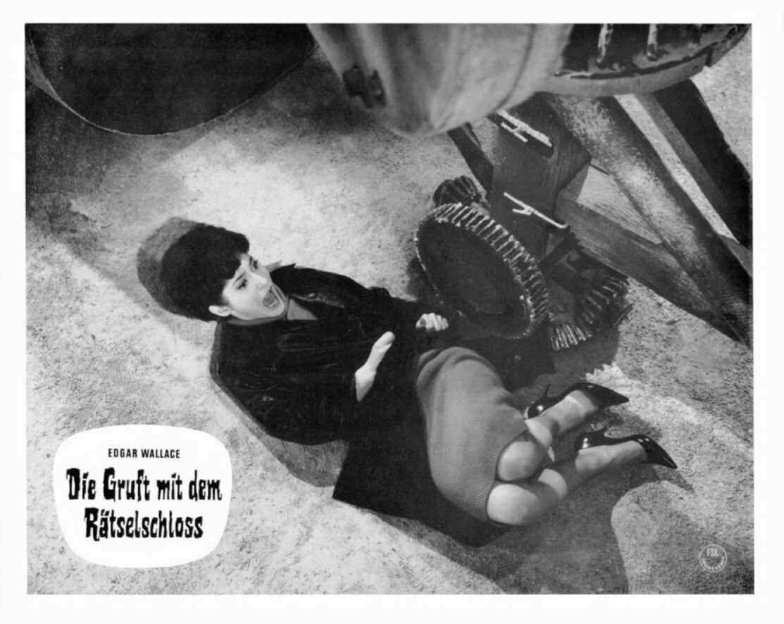 Judith Dornys In Die Gruft Mit Dem Ratselschloss D 1964 Regie Franz Josef Gottlieb Gottlieben Ratsel Judith