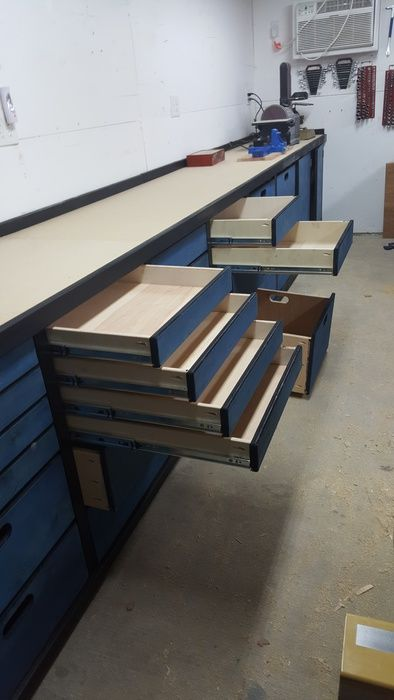 Plywood Shop Storage Cabinets   Woodworking Talk   Woodworkers Forum