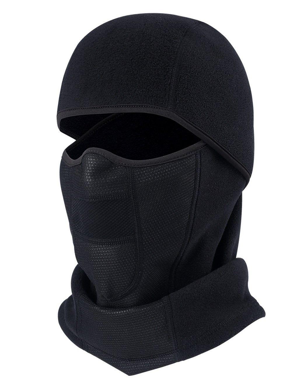 de459b61cf9 Balaclave Windproof Motorcycle Black Polar - Black Balaclava-Polar Fleece -  CF1872NMIWX - Hats   Caps