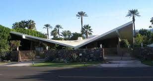 Giant Butterfly Roof Mid Century Modern Mid Century Exterior
