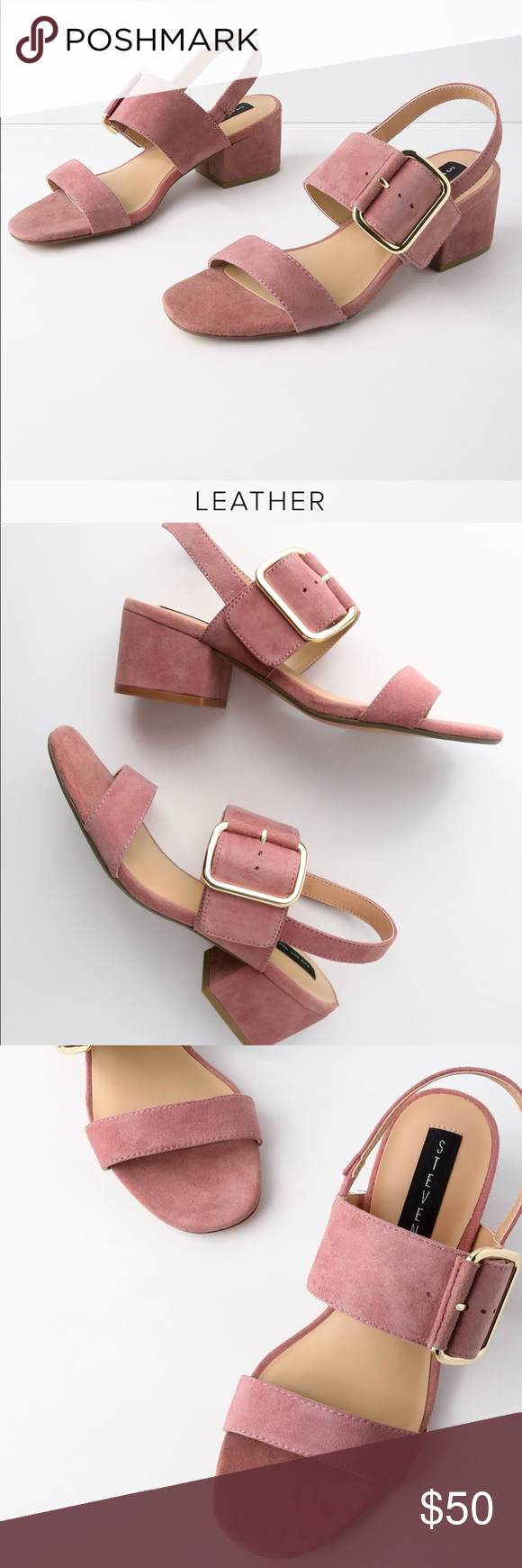 cb696555dcb Steven by Steve Madden Rose Suede Leather Heels You bet we are fond of the  Steven by Steve Madden Rose Suede Leather High Heel Sandals!