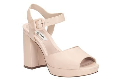 205f2f171d5a Clarks Osberry May - Light Pink - Womens Casual Sandals