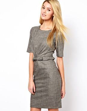 Enlarge Oasis Tweed Pencil Dress  10d0a5ff7