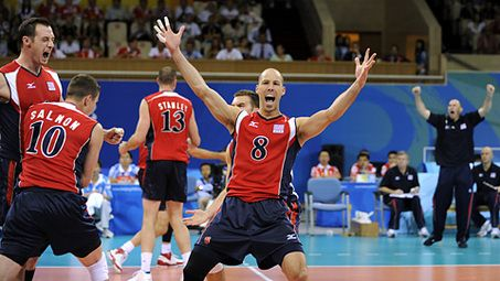 Men's volleyball: Ball, Team USA to play for gold ...
