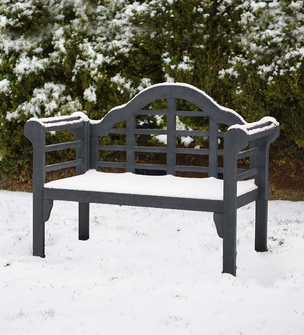 Fine Lutyens Wood Garden Bench Outdoor Benches Home Decor Ibusinesslaw Wood Chair Design Ideas Ibusinesslaworg