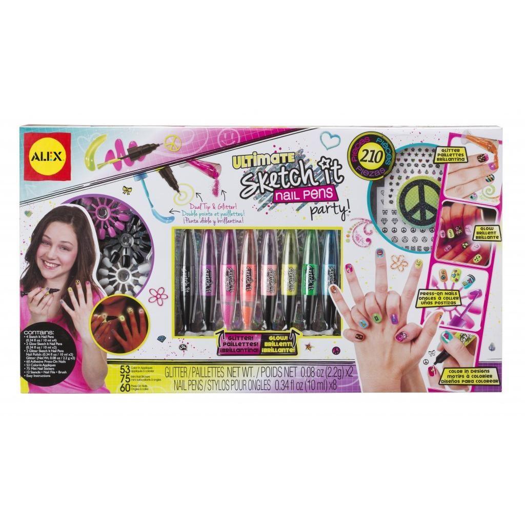 ALEX Toys Spa Ultimate Sketch It Nail Pens Party | Nail pen