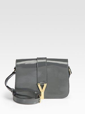 6c2290dba7 Yves Saint Laurent - YSL Chyc Medium Patent Leather Flap Bag - Saks ...