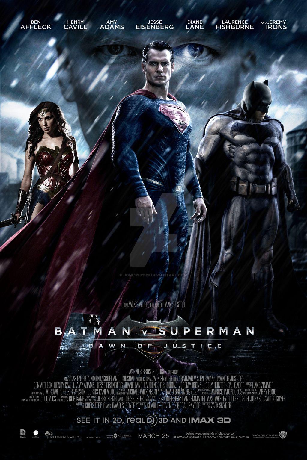 Batman V Superman Batman Vs Superman Cartaz Batman Vs Superman Batman Vs