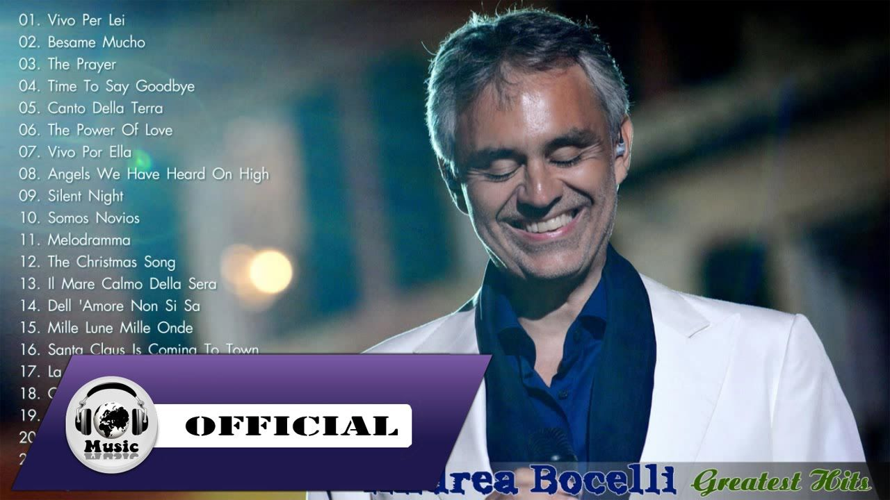 Andrea Bocelli Greatest Hits Hq Mp3 The Best Songs Of Andrea