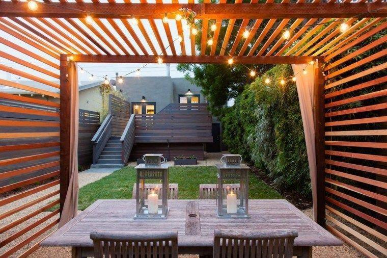 Terrazas en madera modernas
