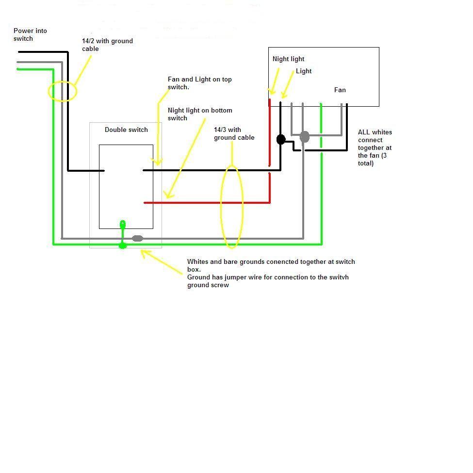 Best 54 reference of bathroom fan switch diagram | Ceiling fan switch, Bathroom  fan light, Bathroom exhaust fanPinterest