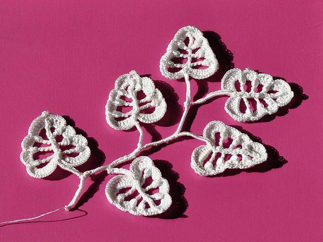 18 Free Crochet Leaf Patterns For Every Season Crochet Leaves