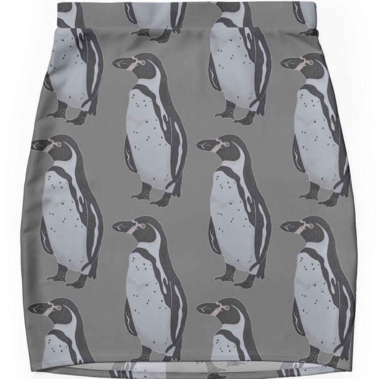 「Penguin skirt anyone? Can be bought in my shop www.redbubble/people/nephrurus1/shop #penguin #humbolt」