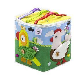 Ruhig Filz Spielzeug weichen Puzzle Tiere für Baby ein Jahr alt und bis, Reisen Bildungs-busy-Brett – 1 Tabletten, Kleinkind Spielzeug von Minimum des