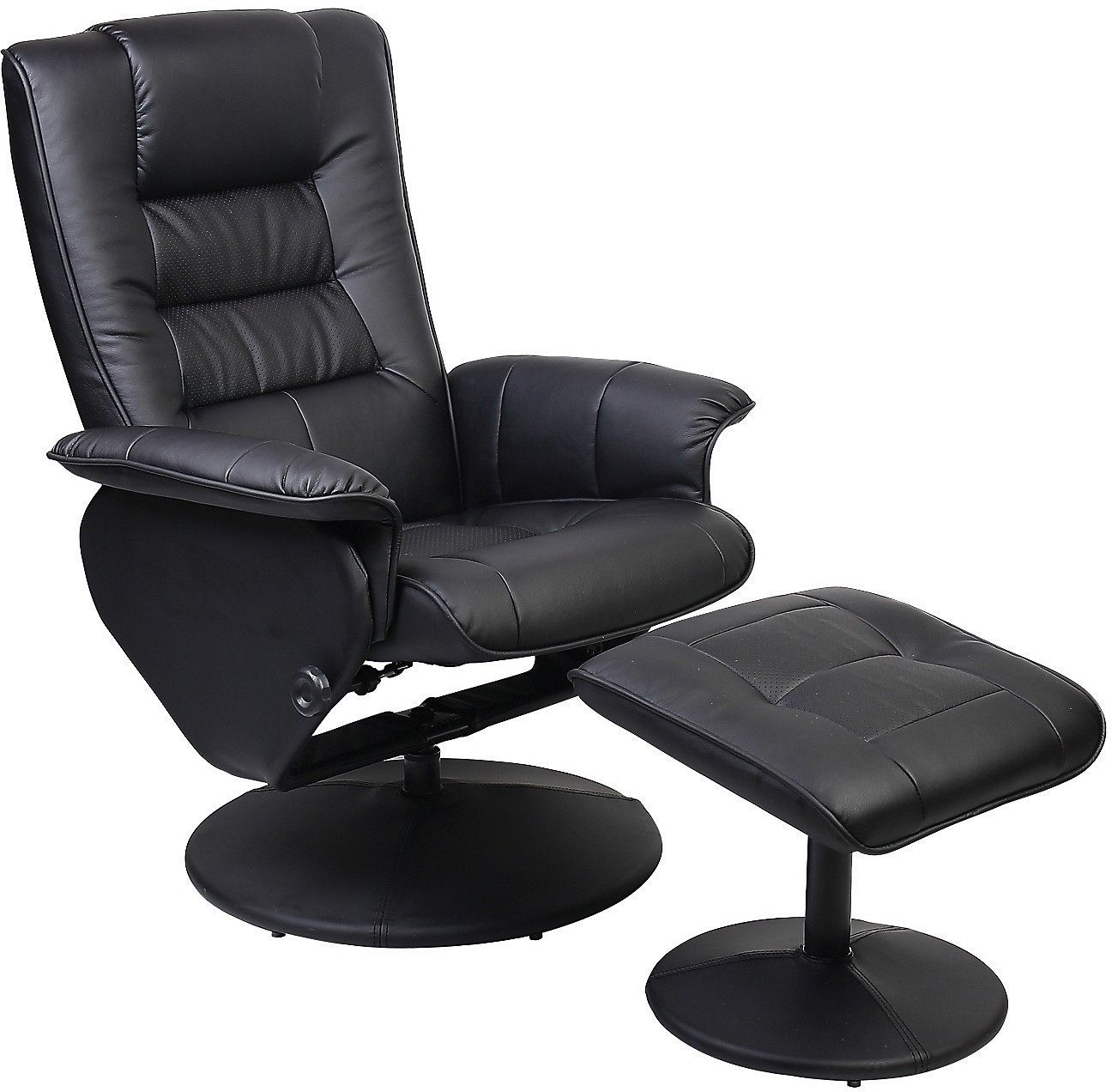 Reclining Office Chair With Ottoman Executive Home Furniture Check More At Http