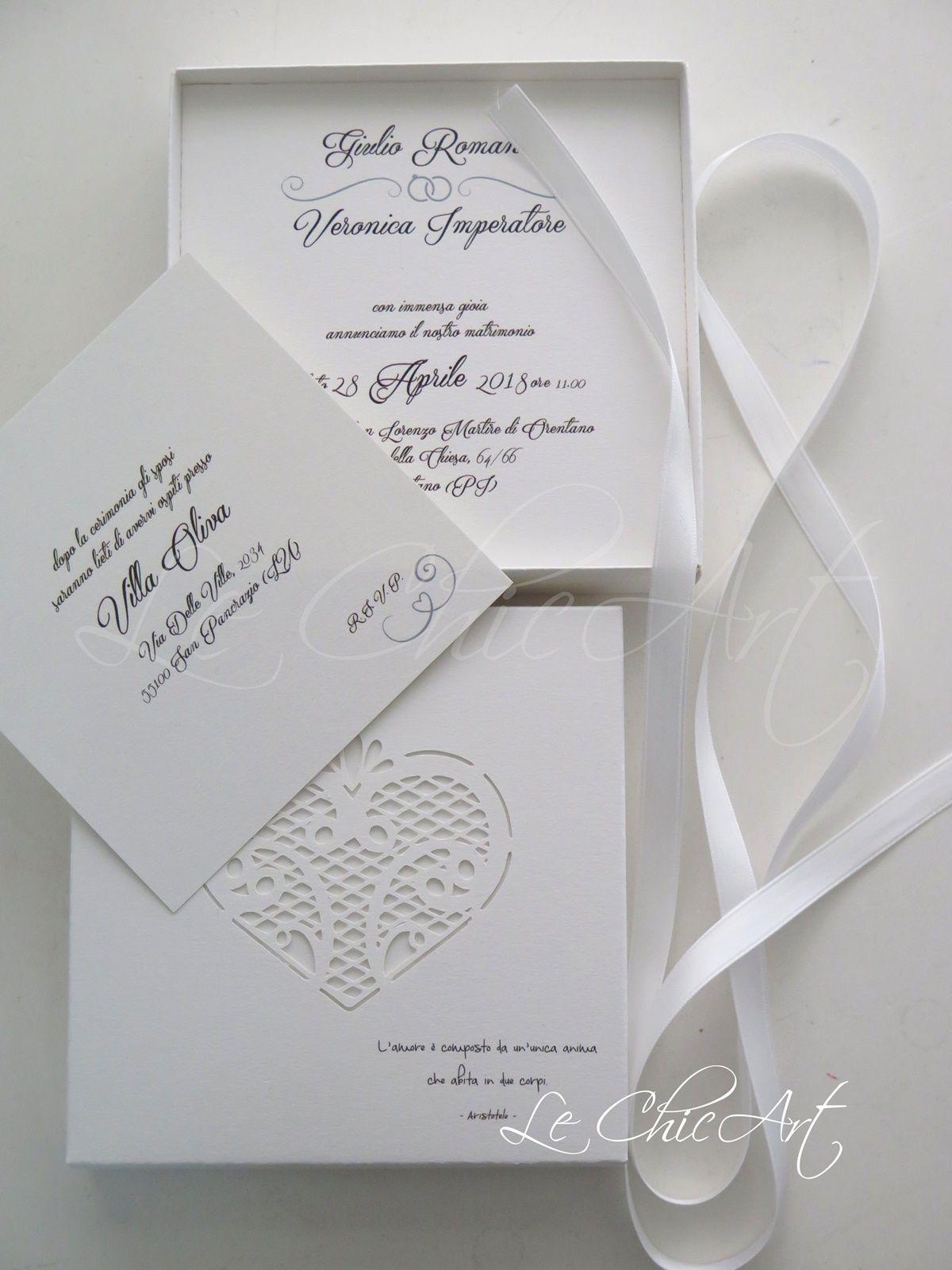 Segnaposto Matrimonio Total White.Partecipazione Matrimonio Total White Partecipazioni Nozze