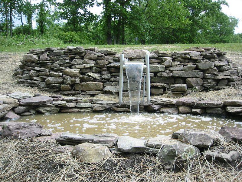 Merveilleux Stone Wall Garden   Google Search