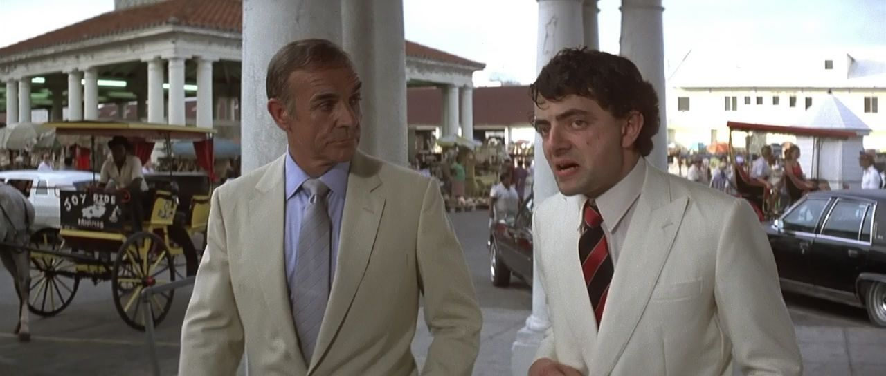Rowan Atkinson In 2020 Sean Connery James Bond Atkinson
