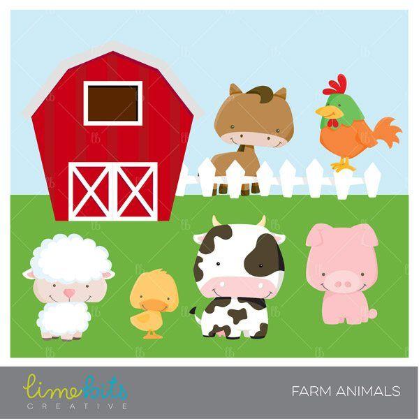 Little Farm Animals Clipart Animal Clipart Farm Animals Clip Art