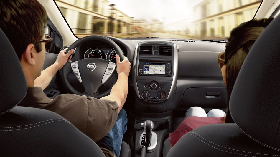 2015 Nissan Versa Sedan Sl Shown In Charcoal Cloth With Optional Equipment Nissan Versa Nissan Hattiesburg