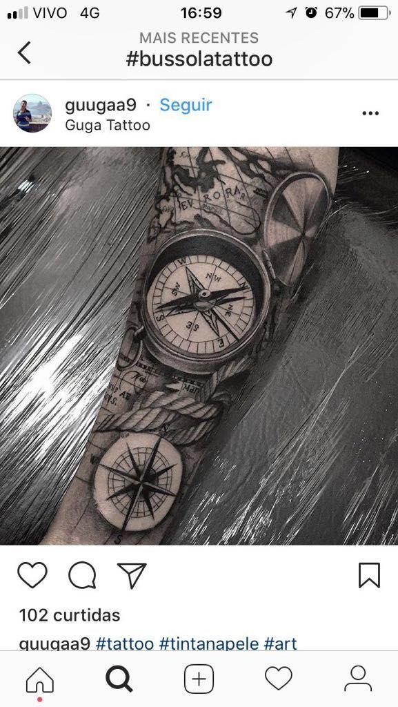 pin von charly auf tattoos pinterest kompass tattoo. Black Bedroom Furniture Sets. Home Design Ideas