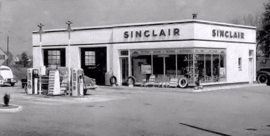 Pin by David Clark on Old Gasoline Service Stations Gas