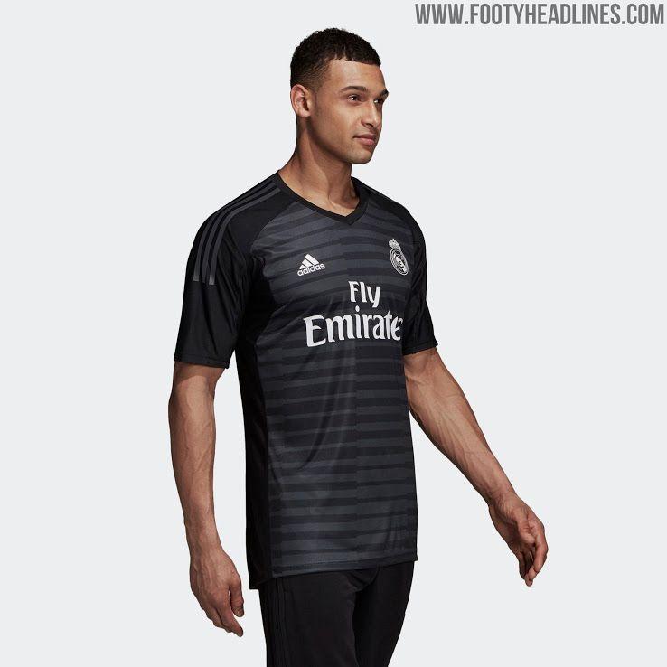 33910cf28 Real Madrid 18-19 Goalkeeper Home & Away Kits Released - Footy Headlines