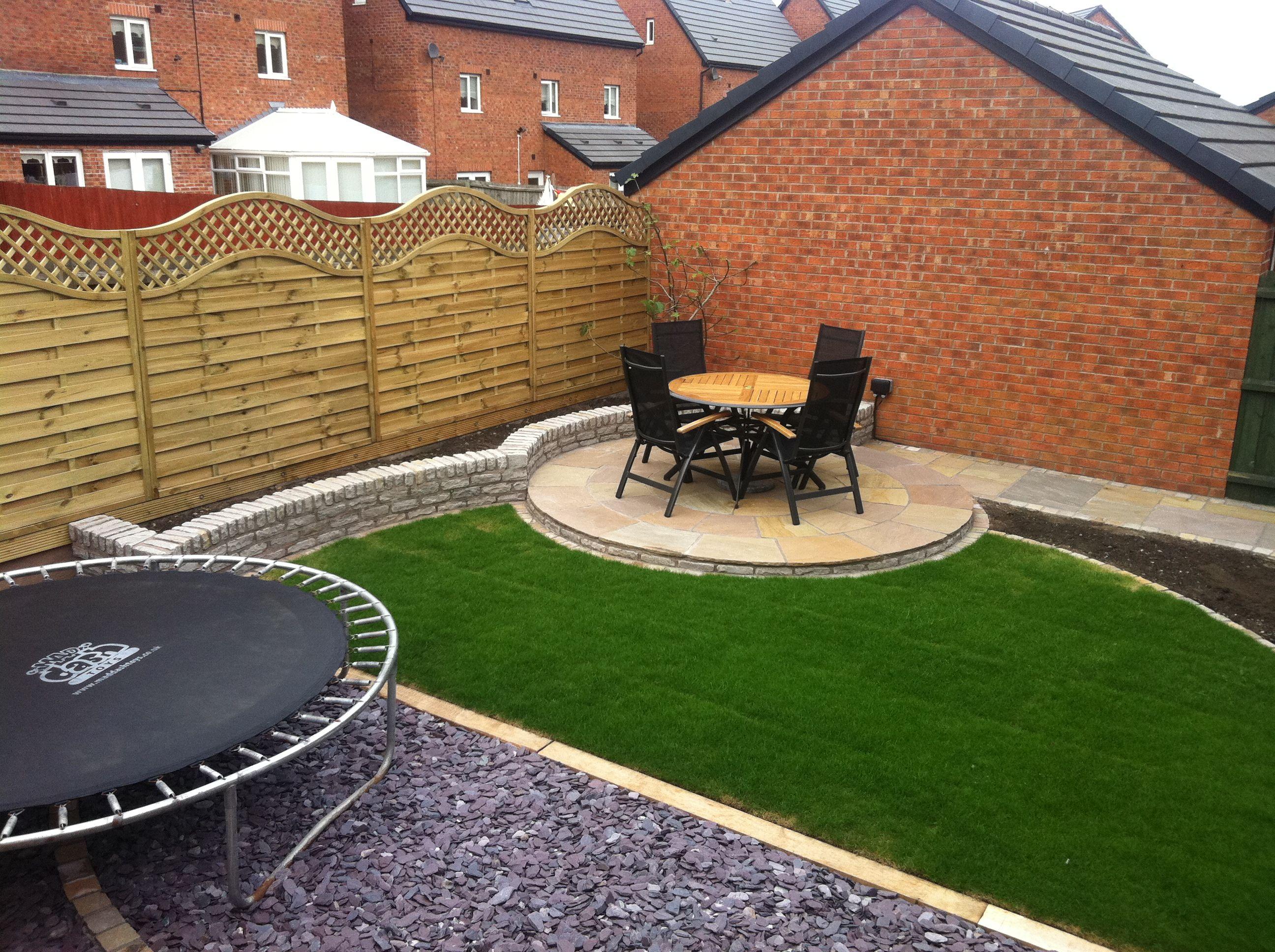 landscaping liverpool garden makeover including marshalls