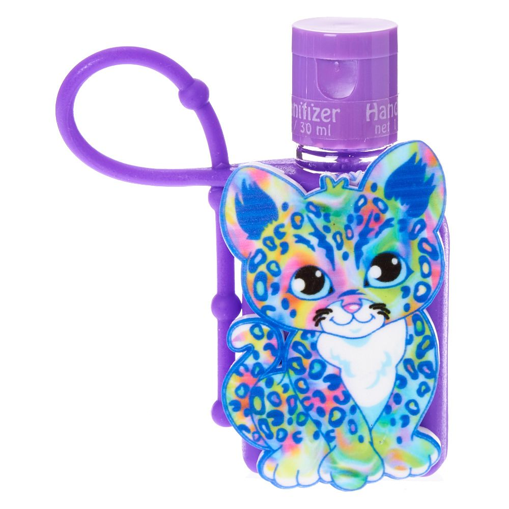 Rainbow Leopard Hand Sanitizer Fashion Jewelry Girls